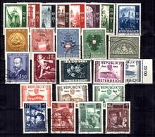 Autriche Belle Petite Collection D'oblitérés 1948/1952. Bonnes Valeurs. B/TB. A Saisir! - 1945-.... 2ème République