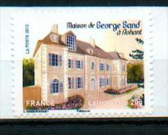 France 2013 - Nohant, Berry / Maison De George Sand / George Sand's House - MNH - Scrittori
