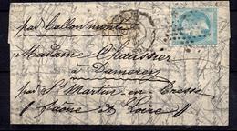 """France Superbe Ballon Monté """"Le Tourville"""" Décembre 1870. Ballon N° 50. B/TB. A Saisir! - 1870 Siege Of Paris"""