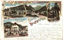 Gruss Aus Wildenstein - Litho - Non Classés