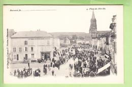 BACCARAT - Place Du Marché  - Beau Plan Animé - Dos Simple - TBE  - Ed. Nicolas -  2 Scans - Baccarat