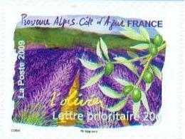 France 2009 - Olivier Et Lavande De Provence / Olive Tree And Lavender Of Provence - MNH - Trees