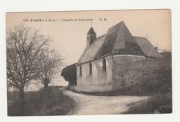 Fondettes.37.Indre Et Loire.Chapelle De Chevalette.1920 - Fondettes