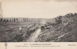 51 - VIRGINY - Cantonnement D' Artillerie Dans Le Ravin - Autres Communes