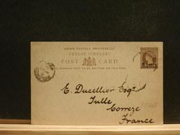 81/468  CP  CEYLON TO FRANCE  1891 - Ceylon (...-1947)