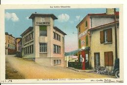 42 - SAINT GALMIER / L'HOTEL DES POSTES - Francia