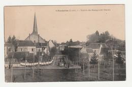 Fondettes.37.Indre Et Loire.Entrée Du Bourg (côté Ouest).1926 - Fondettes