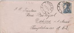 Pologne Lettre Lodz Pour L'Allemagne 1926 - 1919-1939 Republic