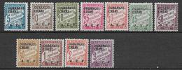 OUBANGUI-CHARI - 1928 - TAXE YVERT 1/11 * MLH - COTE = 38 EUR. - Ubangui (1915-1936)