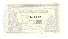 France 1 Franc Ticket Loterie 500.000 Francs - France