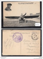 1454 AV CPA CP AK MONOPLANE VENDOME PILOTE PAR GIBERT CACHET GROUPE AEROSTATION COMPAGNIE DE DEPOT TTB - Aviatori