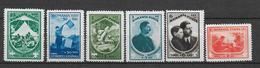 ROUMANIE - 1932 - YVERT 440/445 * MLH - COTE = 75 EUR. - JAMBOREE SCOUT - Unused Stamps