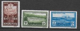 ROUMANIE - 1932 - YVERT 449/451 ** MNH - COTE = 40 EUR. - - Unused Stamps