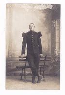 Photo - CPA Militaire, Carte Envoyée De La Meuse. A Identifier ! - Personnages