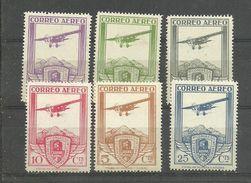EDIFIL Nº483/88 ** 1930  REEINPRESION  -  REPRINT - 1875-1882 Reino: Alfonso XII