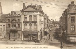 DUNKERQUE  --  Rue Jean Jaurès Et Place D'Armes - Dunkerque