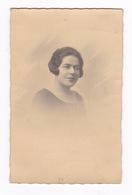 Photo - CP Femme, 1927, Cachet Du Photographe, G. Denizot, Place Bouillaud, Angoulême (Charente) - Personnes Anonymes
