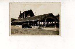 CHATILLON SUR CHALARONNE Les Halles Et L'Eglise (carte Photo Animée) - Châtillon-sur-Chalaronne