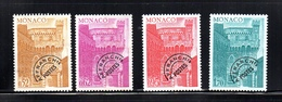 Préoblitéré Monaco 1976 N° Y&T   42/45   Neuf/s (NSG) - Ungebraucht