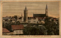 Friedland In Mecklbg. - Partie Mit Wasserturm - Germany