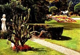 Louviers Le Jardin Public ( égérie , Statue , Nu , Blason Fait Avec Des Fleurs - Louviers