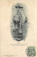 LORIENT -type De Mendiant Breton Jack Le Carrer Dit Le Bon Dieu De Pluvigner (état) - Lorient