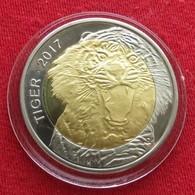 Burkina Faso 50 Francs 2017 Tiger Unc - Burkina Faso