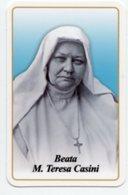 Santino BEATA MARIA TERESA CASINI Suore Oblate DelSacro Cuore - PERFETTO P83 - Religione & Esoterismo
