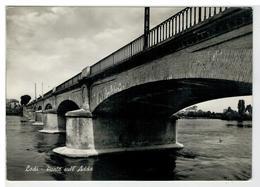 Cartolina Lodi - Ponte Sull'Adda - Lodi