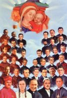 Santino BEATI MONS. VINCENC PRENNUSHI E COMPAGNI MARTIRI - PERFETTO P83 - Religione & Esoterismo