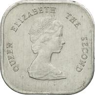 Monnaie, Etats Des Caraibes Orientales, Elizabeth II, 2 Cents, 1981, TTB - Caraïbes Orientales (Etats Des)