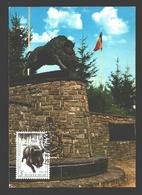 FDC 1974 - Martelange - Monument Aux Chasseurs Ardennais - FDC