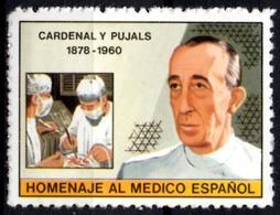 Cardenal Y Pujals Cinderella Surgeon Physician Surgical Pathology Thesis On Morphology On Blood Spain Medicine Health - Vignettes De Fantaisie