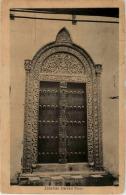 Zanzibar - Carved Door - Tansania