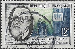 FRANCE 1957 French Inventors -- 12f. Beclere (radiology) FU - Usati