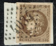 A10b- N°47 Sans Défaut Signé Georg BÜLHER Expert Allemand. - 1870 Bordeaux Printing