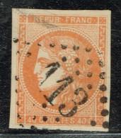 A10b- N°48 Sans Défaut Signé Georg BÜLHER Expert Allemand. - 1870 Emission De Bordeaux