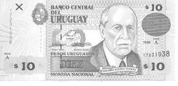 Uruguay  P-81  10 Pesos  1998   UNC - Uruguay