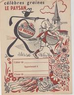 Protège Cahier - Célèbres Graines - Le Paysan - Buvards, Protège-cahiers Illustrés