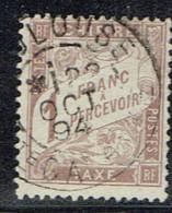 A12b-taxe N°25 Sans Défaut 1894 - Segnatasse