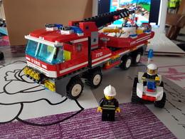 Set Lego Pompier Bateau Quad 7213 - Lego System