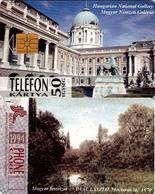 TARJETA TELEFONICA DE HUNGRIA. NATIONAL GALLERY, PANTANO, Mocsár. HU-P-1994-12. (122) - Hungría