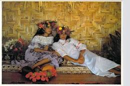 Polynésie Française-Les Vahiné De Tahiti Vous Feront Souvenir Des Oeuvres De Gauguin  Vahinés - Parfumerie TIKI  Ph. CAO - Polynésie Française