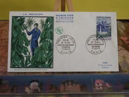 La Réunion, Culture De La Vanille,église De La Cilaos - (75) Paris - 16.1.1960 - FDC 1er Jour Coté 2€ - FDC