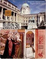 TARJETA TELEFONICA DE HUNGRIA. NATIONAL GALLERY, VISITACIÓN, Vizitáció. HU-P-1994-11. (121) - Hungría