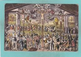 Old Post Card Of La Passione Di Bernardino Luino,Chiesa Degli Angeli,Lugano, Ticino, Switzerland ,Q93. - TI Tessin