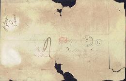 LSC Lettre Avec T18 De AMAY + Boîte Rurale G De SAINT-GEORGES Vers LIEGE H. DESSAIN Imprimeur-éditeur à LIEGE - 1830-1849 (Belgique Indépendante)