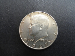 HALF DOLLAR KENNEDY 1967 ARGENT SILVER - Federal Issues