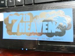 19524) ADESIVO 7th HEAVEN AMSTERDAM SPUISTRAAT DIMENSIONI 12,5 X 5 Cm - Adesivi