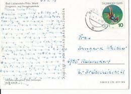 DDR Postkarte EF   2835 Bad Liebenstein - Rehmsdorf - DDR